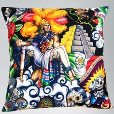 Cushion with digital printing, 2014 fashion style, customized designs are accepted