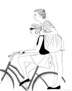Fashion Illustration//DoodleDuck Designs