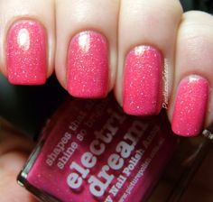 piCture pOlish - Electric Dream by Nail Polish Anon | Pointless Cafe