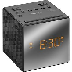 Rise and shine with a Sony dual alarm clock radio. Acquired directly from a Sony Liquidator. Photos are of the actual Item. Marketing Information: Rise and shine with a Sony dual alarm clock radio. Radios, Sony, Usb, Black Clocks, Daylight Savings Time, Radio Alarm Clock, Buzzer, Computer, Digital Alarm Clock