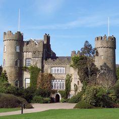 Malahide Castle, County Dublin, Ireland - built 1185 by Richard Talbot, Knight who accompanied Henry II to Ireland in 1174.
