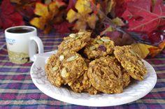 Spiced Pumpkin Cookies - Gluten-free, vegan.