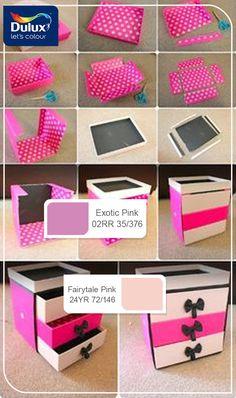 Diy Storage Bo Nail Polish Makeup Craft