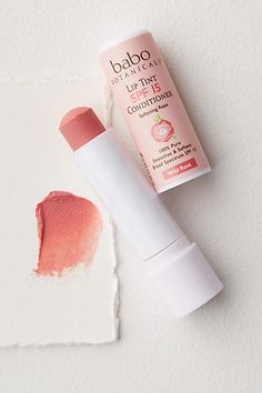 Babo Botanicals Lip Tint Conditioner SPF 15 #anthrofave