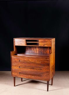 Anonymous; Rosewood Cabinet by Gern, 1960s.