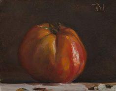 Coeur de Boeuf 6-20-14. JMS an heirloom tomato.