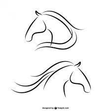 Resultado de imagen para dibujos de cabezas de caballos Más