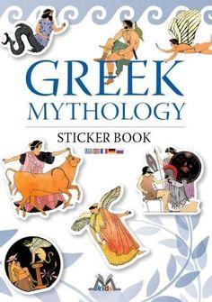 Greek mythology, illustrated book, greek culture, mediterraneo editions, www.mediterraneo.gr