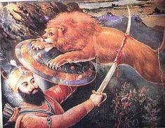 Untitled Document Guru Hargobind, Kalamkari Painting, Guru Gobind Singh, Clover Necklace, History, Animals, Elks, Blessings, Hunting