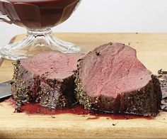 Spice-Rubbed Roast Beef Tenderloin with Red Wine Sauce recipe