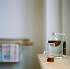 A morning spent sipping siphoned coffee at Blue Bottle Mint Plaza