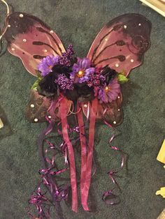 DIY fairy wings from mostly dollar store supplies!