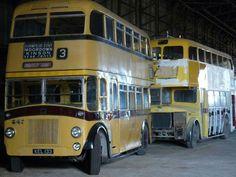 Beach Huts, Bournemouth, Coaches, Buses, Transportation, Truck, British, History, Yellow