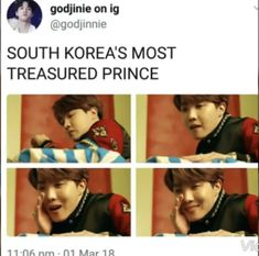 Such a prince makes me wanna cry