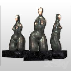"Sculpture primitivism ""Daria"""