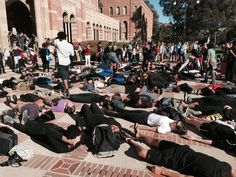 UCLA in protest of Fergason MO decision 11/25/14