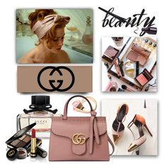 """""""Accessory World - Gucci Beauty"""" by jacque-reid ❤ liked on Polyvore featuring beauty, Gucci and gucci"""