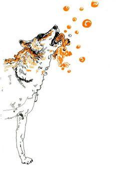Wolf by superszymba #wolf #super #szymba #fun #drawing #sweet #soap #zine