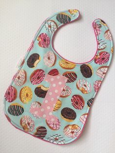 This Donut first birthday bib is just the right accessory for your little one's special special occasion, or any dining experience. 1st Birthday Party For Girls, 1st Birthday Themes, First Birthday Pictures, Donut Birthday Parties, Baby Girl 1st Birthday, Donut Party, Birthday Ideas, Birthday Decorations, Thing 1