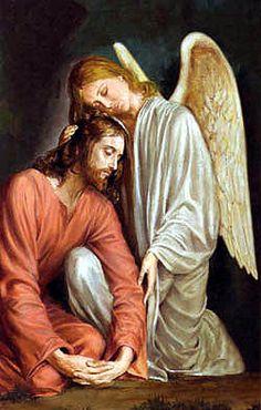 'Everyone wants to be an angel, hugging Jesus'