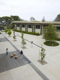 The Nueva School by Andrea Cochran Landscape Architecture, via Behance