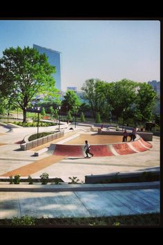 Paine's Park...new skateboard park in Philly
