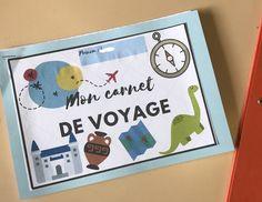 Voyage au fil du temps - Thème de classe 2018/19 | Maitresse de la forêt Little Passports, Cycle 3, Continents, Diy Art, Origami, Notebook, Classroom, Animation, App
