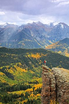 Summer in Telluride offers a chance to climb fourteeners (peaks that exceed 14,000 feet) or hike from one alpine lake to the next. #PinUpLive >> Have you ever hiked a fourteener? I'd love to try.