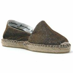 Gaimo Alpargata Var Metallic Espadrilles | Spanish Fashion - SPANISH SHOP ONLINE | Spain @ your fingertips #gaimo #espadrille