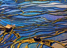 Yuanyang Terrace Field is located in Honghe County, in southern Yunan, China