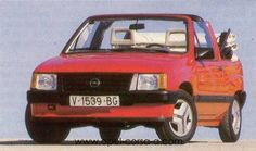 OG | 1984 Opel Corsa A Cabriolet | It was planned to build 500 cars. But unfortunately only this prototype was built.