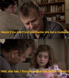 Outnumbered was genius! British Sitcoms, British Comedy, Funny Kids, Funny Cute, Hilarious, Tumblr Funny, Funny Memes, British Humor, Comedy Tv