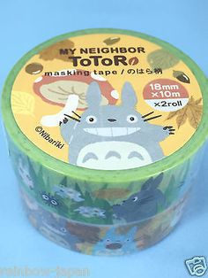 My Neighbor Totoro Masking tape Field pattern Studio Ghibli toys JAPAN