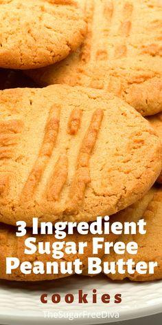 Sugar Free Angel Food Cake Recipe, Sugar Free Peanut Butter Cookies, Sugar Free Cookie Recipes, Sugar Free Deserts, Sugar Free Baking, Sugar Free Candy, Sugar Cookies Recipe, Candy Recipes, Diabetic Friendly Desserts