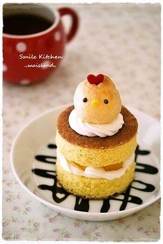 chicken  petite cake