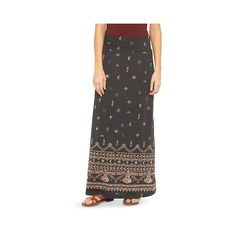 021653971f Bought it and returned it, but i still want it. Has a nice flare and a cute  flattering print. Printed Knit Maxi Skirt - Mossimo Supply Co.