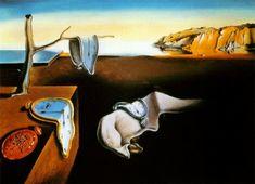 """""""La persistencia de la memoria"""" del maestro de la pintura Salvador Dalí, Realmente fascinante."""