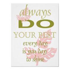 Go ahead... shine!!