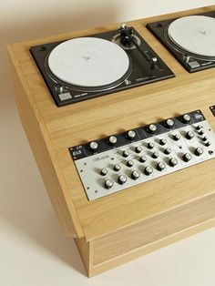 Beautiful DJ consoles inspired by Studio 54 and the Paradise Garage
