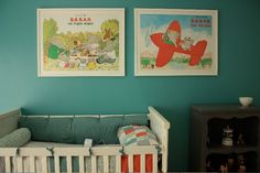 A Babar-themed nursery is my dream - Everything Babar would be twice as nice.