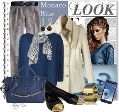 """""""Monaco Blue"""" by sheryl-lee ❤ liked on Polyvore"""