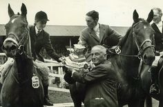 Irish Kellett and Ian Hume-Dudgeon at the Dublin Horse Show 1950s