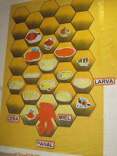 Cube, Diy, Blog, Insects, Wood Bees, Infant Activities, Infant Crafts, Bee, Bricolage