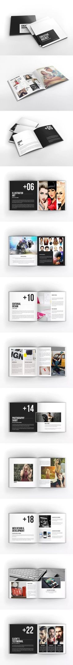 Product Catalog Template u2013 US Letter Landscape Design Haven - pull tab flyer template