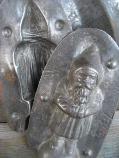Santa - Saint Nicholas - chocolate mold.    Pinned by www.mygrowingtraditions.com