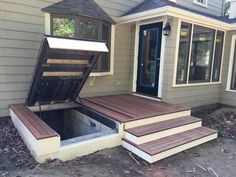 LuciGold | Hide Access to Your Basement Bulkhead Door | Deck Hatch