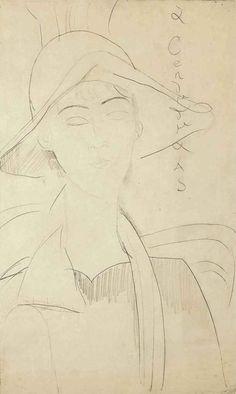 Amedeo Modigliani (Italian, 1884-1920)