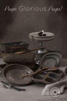 How to find amazing props for your food photos | Food Photography Blog | Christina Peters