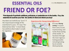 What's in your Essential Oil bottle?  Don't let cheaper prices deceive you.  It's RESULTS you really want! www.theoilofgladness.com