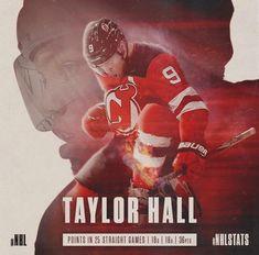 Hockey Goalie, Ice Hockey, Taylor Hall, New Jersey Devils, Baseball Cards, World, Sports, Hs Sports, The World
